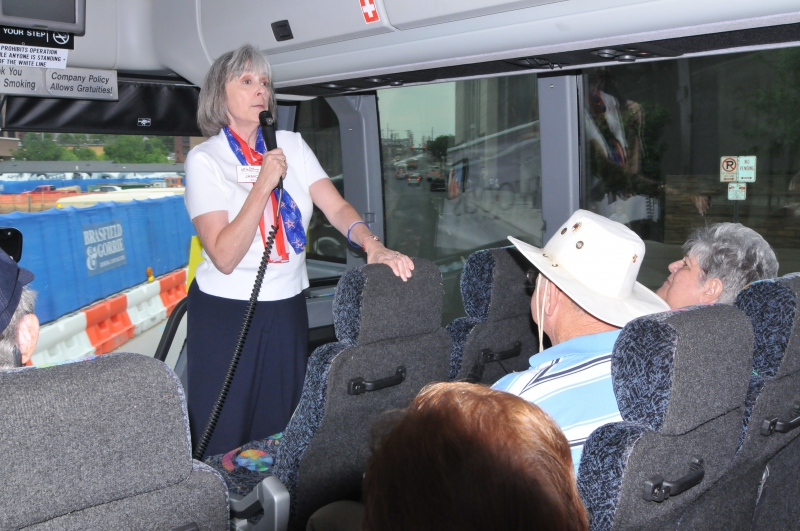 BUS TOUR - JANICE DILL, TOUR GUIDE