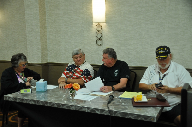 BUSINESS MEETING - PAM + LARRY ROBBINS, CHRIS WAUGH, BOB BARRIE