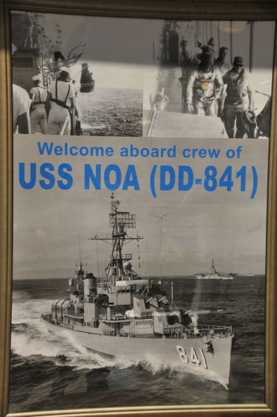 USS NOA DD-841 POSTER