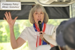 TOUR BUS - JANICE DILL, GUIDE