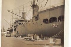 USS Yellowstone - ship tender, 1952