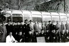 1956 Alps,France Tour - Crew