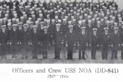 Officers/Crew - 1950-1952