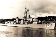 USS-NOA DD-841, near Londonderry, North Ireland, 26-Jul-1952
