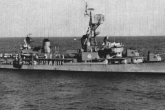 USS Noa DD-841 underway in1962