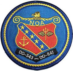 USS NOA DD-343, DD-841
